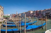 View At The Canal Grande In Venice