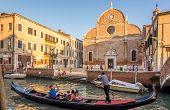 Chuch Santa Maria Dei Carmini In Venice