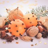 image of christmas spices  - Aroma of Christmas  - JPG
