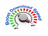 3D Knob - Boost Download Speed