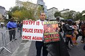 Denouncing Egyptian police state