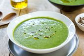 Spinach With Celery And Fennel Soup