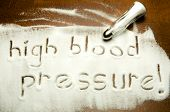 high blood pressure !