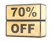 70 percent Sale Discount