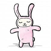 cartoon rabbit costume