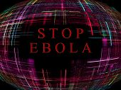 Ebola Virus Epidemic Concept.digitally Generated Image.