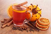 orange and spices tea