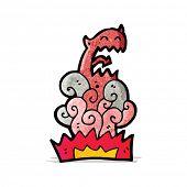 cartoon devil appearing