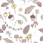 seamless autumn pattern