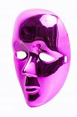 Pink mask Isolated on a White Background