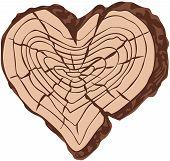 Timber heart