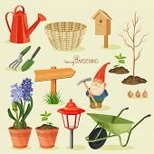 stock photo of horticulture  - Realistic design - JPG