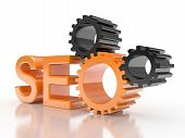 SEO - Search Engine de engrenagens