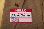 stock photo of gun shop  - My name is AR - JPG
