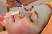 image of facials  - Beauty treatments in the beauty salon - JPG