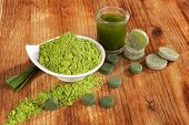 foto of chlorella  - Detox - JPG
