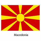 pic of macedonia  - Flag of the country macedonia - JPG