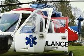 Picture of air ambulance.
