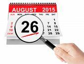 image of august calendar  - Women - JPG