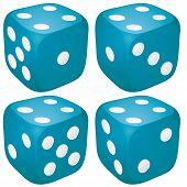 4 dices