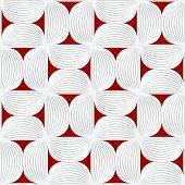 stock photo of semi-circle  - Seamless geometric background - JPG