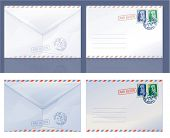 Envelopes. Vector.