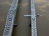Ship Under Bridge