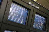Departures Screen