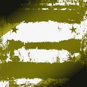 Militärische Grunge mit Sternen