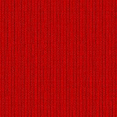 Seamless Red Wool Closeup