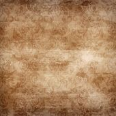 Large Seamless Damask Grunge Background
