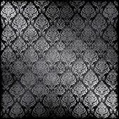 Vector Dark Seamless Damask, See Jpeg Also In My Portfolio