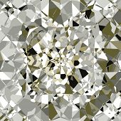 Vector Beautiful Diamonds Background, See Jpeg Also In My Portfolio