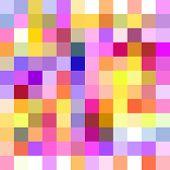 XL Seamless Pixel Mosaic