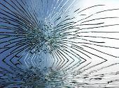 Broken Glass Ripple