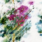 Seamless Floral Art