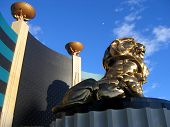 Lion At Mgm Grand Hotel, Las Vegas