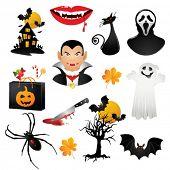 helloween icons. Vector