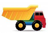 Toy truck.