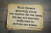 Постер, плакат: Top 5 quotes by Giovanni Boccaccio Italian writer poet Renaissance humanist  While farmers gene