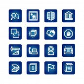 building and architecture icon set