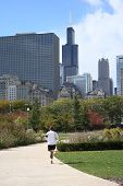 Jogging In Chicago
