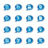 bubble document icons