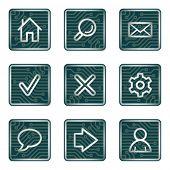 Web icons, electronics series
