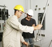 Electrical Team Bending Pipe