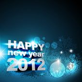 stylish vector artistic new year background