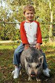 A Real Piggy Back Ride