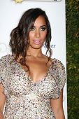 LOS ANGELES - 19 de NOV: Leona Lewis chega à