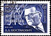 Compositor russo Dmitri Shostakovich 7ª Pontuação de Sinfonia