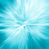 Light Blue Gradient Background / Blue Radial Gradient Effect Wallpaper poster